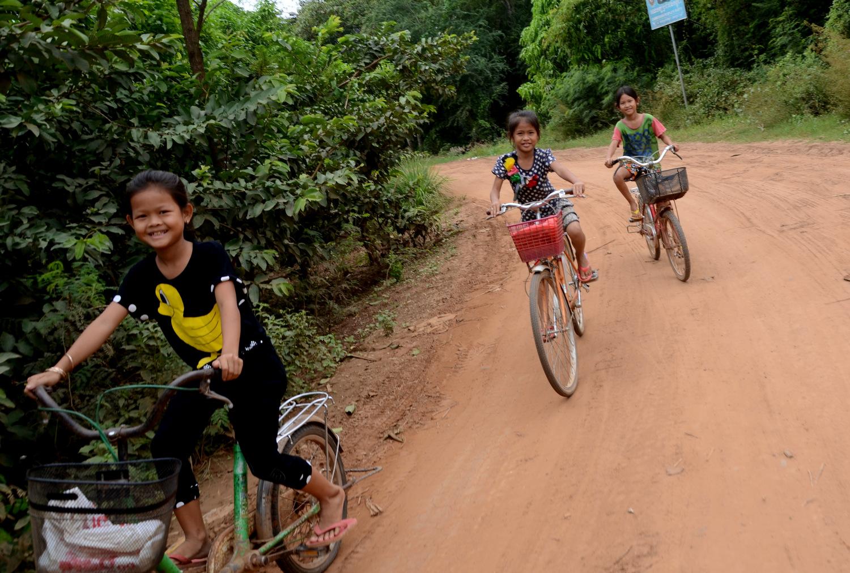Skuterem wzdłuż Mekongu