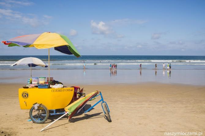Wielkanoc na plaży w Ekwadorze