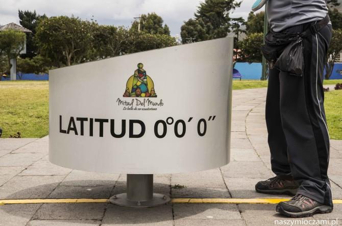 Mitad del Mundo czyli na równiku w Ekwadorze