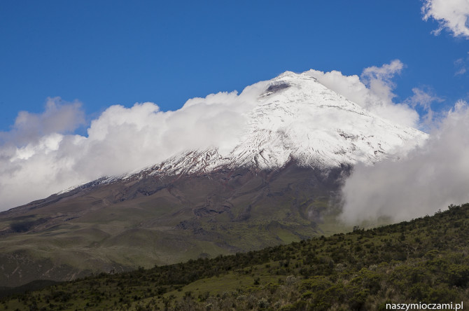 Cotopaxi czyli Fuji-san Ekwadoru