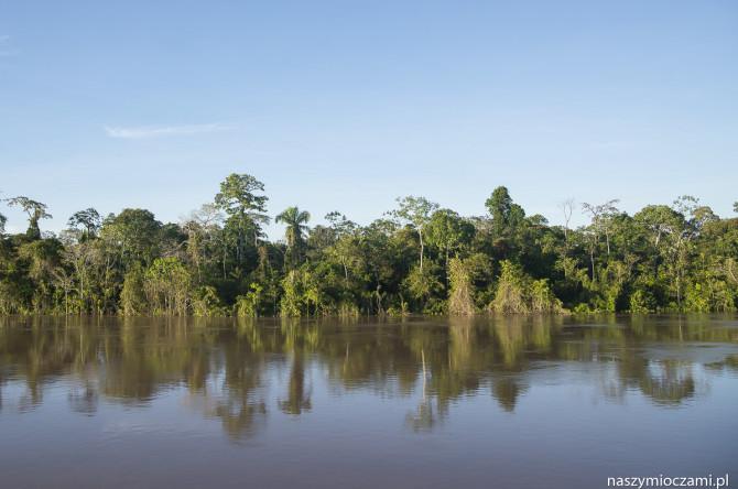 Barką po Amazonii do Iquitos