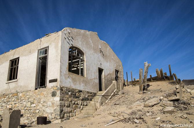 Diamentowe miasto Kolmanskop