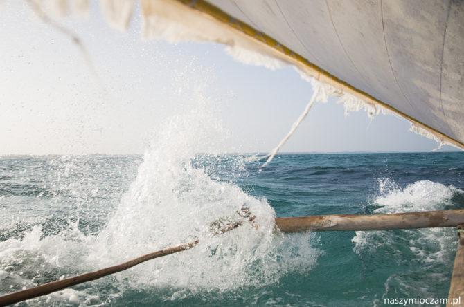 Na ryby. Na Zanzibarze