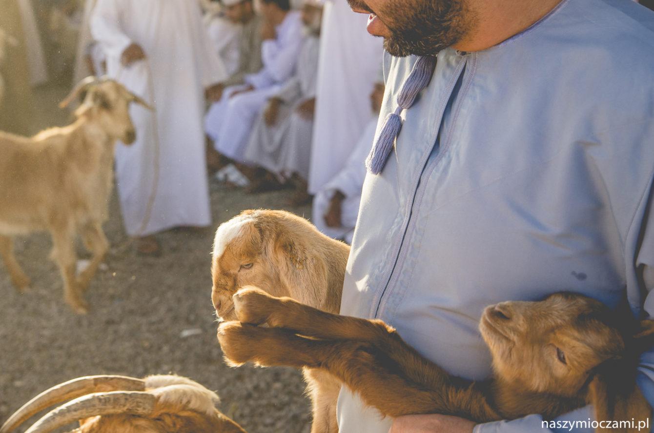 Targ kozi w Nizwie